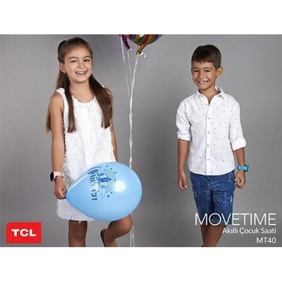 Alcatel TCL MT40X Movetime Family Watch 4G Akıllı Çocuk Saati / Mavi