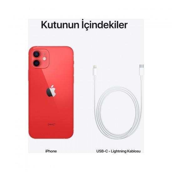 Apple iPhone 12 64 GB-Kırmızı (Apple Türkiye Garantili)