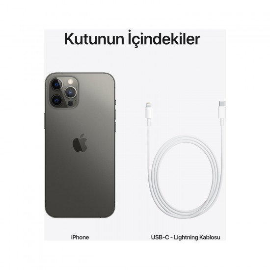 Apple iPhone 12 Pro Max 128 GB-Graphite (Apple Türkiye Garantili)