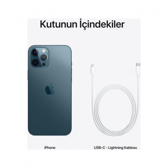 Apple iPhone 12 Pro Max 128 GB - Mavi (Apple Türkiye Garantili)