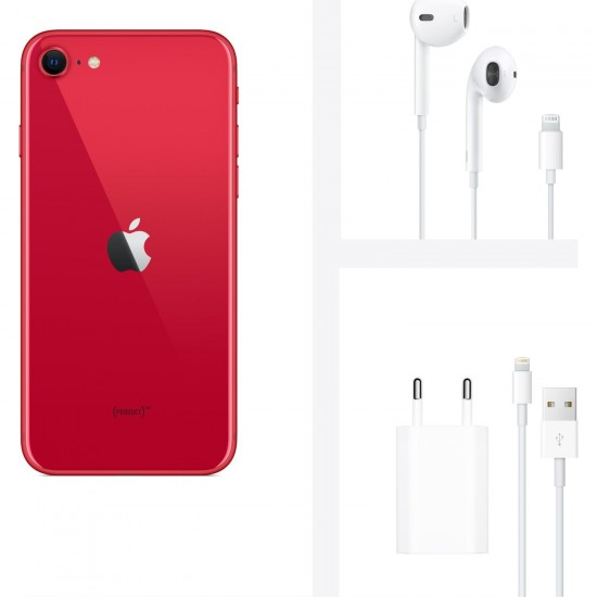 APPLE IPHONE SE 64 GB (Apple Türkiye Garantili) KIRMIZI
