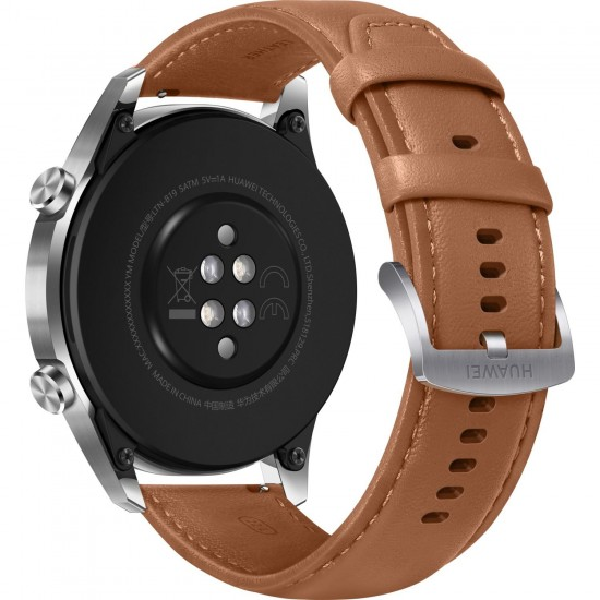 Huawei Watch GT2 46mm Sport Akıllı Saat / Kahverengi (Huawei Türkiye Garantili)
