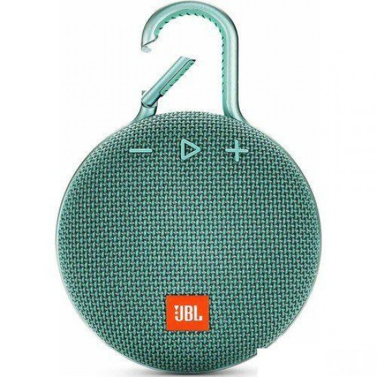 JBL Clip3 IPX7 Su Geçirmez Taşınabilir Bluetooth Hoparlör Turkuaz