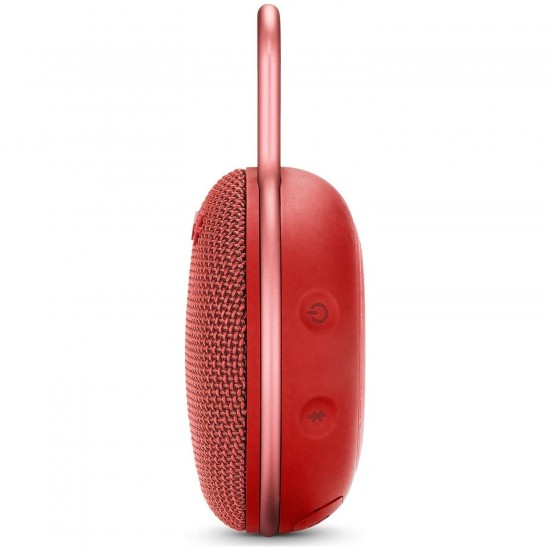 JBL Clip3 IPX7 Su Geçirmez Taşınabilir Bluetooth Hoparlör Kırmızı