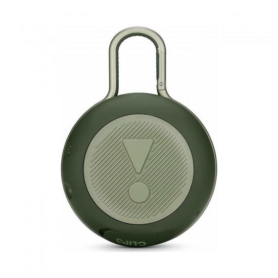 JBL Clip3 IPX7 Su Geçirmez Taşınabilir Bluetooth Hoparlör Yeşil