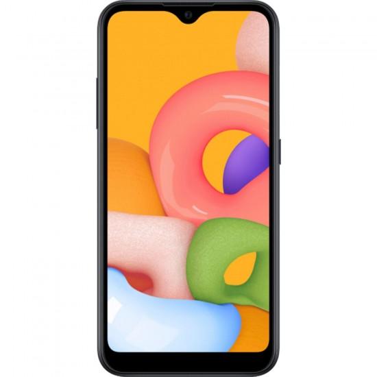 SAMSUNG GALAXY A01 16 GB (Samsung Türkiye Garantili) SİYAH